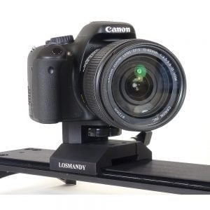 Losmandy DV Series Single Axis Camera Mount (DVCM) with Camera Mounted