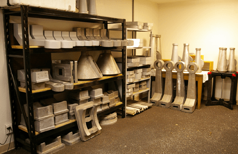 Mathis Instruments Castings Room