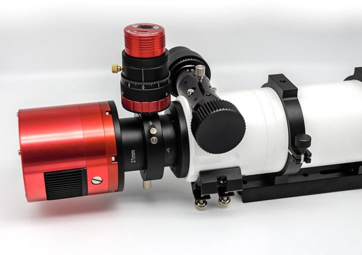 ZWO Helical Focuser Installed on OAG and Telescope