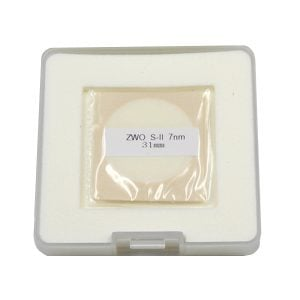 ZWO SII 7nm Narrowband Filter 31mm (ZWO-SII7nmD31)