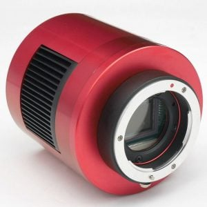 ZWO T2 Micro 4/3 Lens Adapter on Cooled Camera (ZWO-T2-M43)