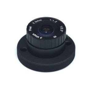 ZWO T2 to C/CS Adapter with 2.5mm CS Lens