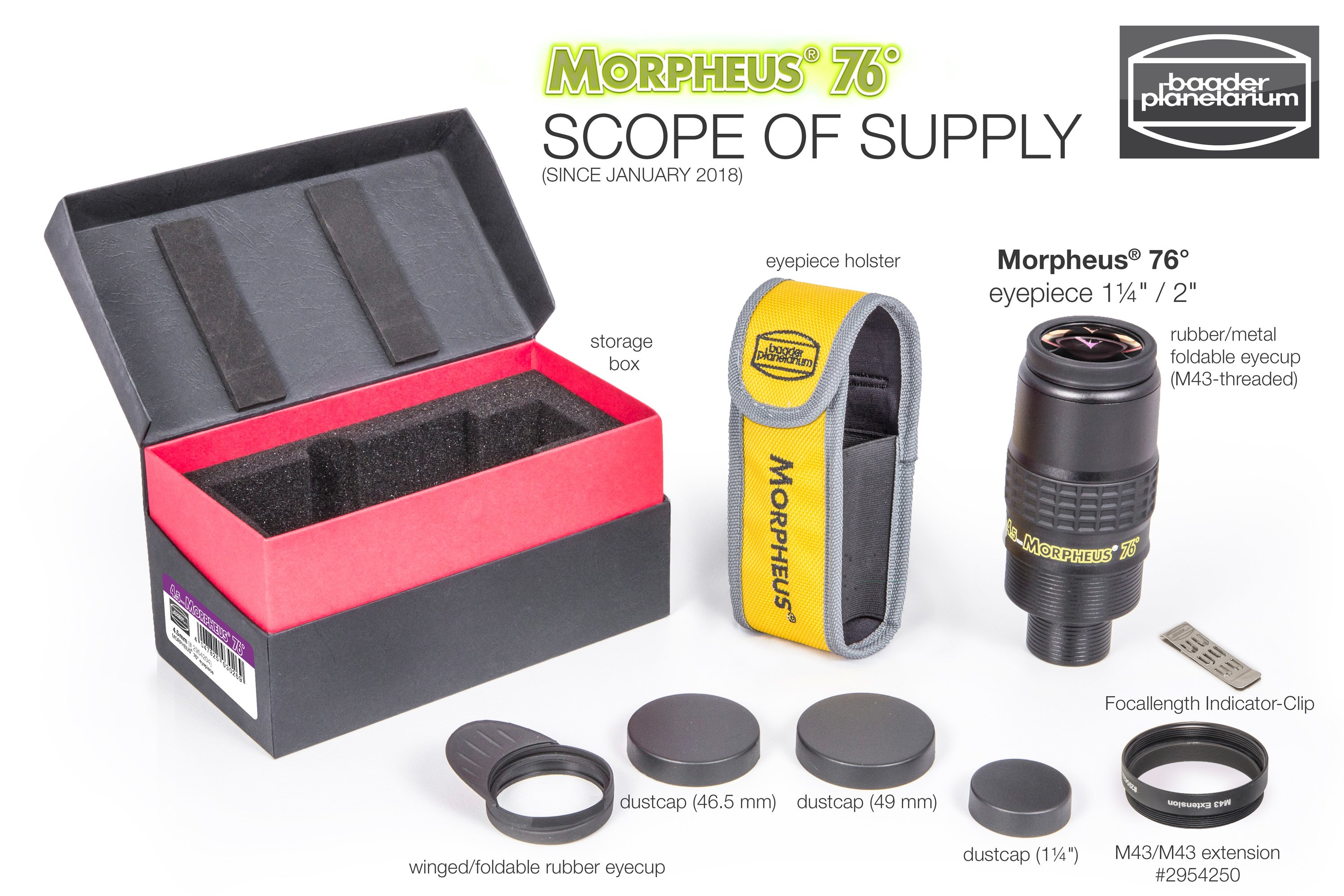 Baader Morpheus Scope of Supply