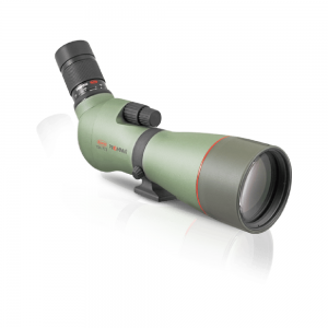 Kowa 88mm Prominar Pure Florite Crystal Spotting Scope - Angled - 01