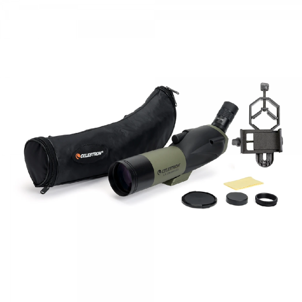 Celestron Ultima 65 45 Degree with smartphone adapter